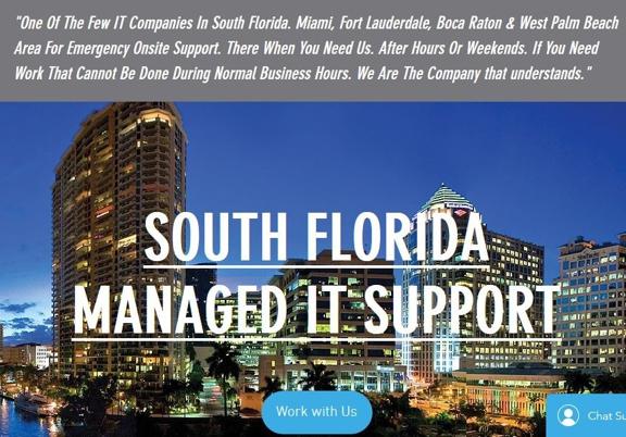 Expert Turnkey Managed IT Support - Pompano Beach, FL