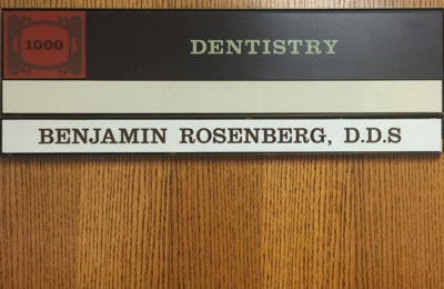 Rosenberg, Benjamin DDS - Los Angeles, CA