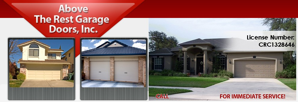 Logo: Services/Products: Sales  Openers   Garage Doors   Parts For Most  Makes Of Doors   Repair And Service Of All Makes And Models Of Garage Doors  And ...