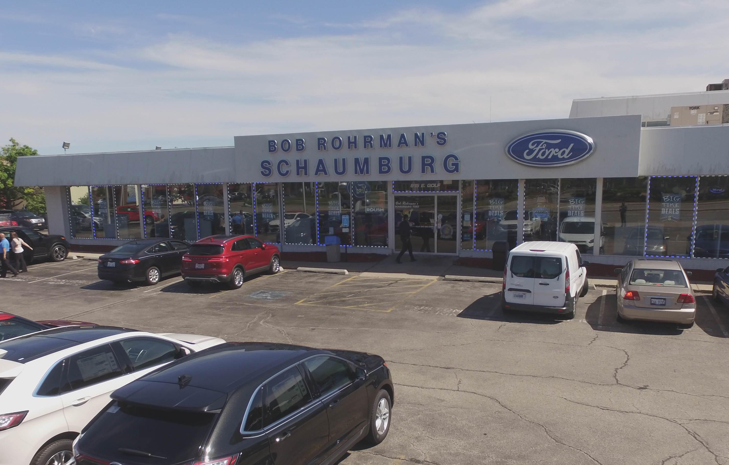 Bob Rohrman Schaumburg Ford 815 E Golf Rd Schaumburg Il 60173 Yp Com