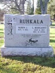 Ruhkala Monument Co Inc