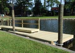 Farris Marine & Decking Services, LLC - Virginia Beach, VA. floating dock