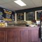House of Bagels - Santa Clara, CA. Menu board and counter