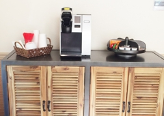 Chris Cusimano Orthodontics - Nampa, ID. Enjoy a cup of coffee or tea during your visit!