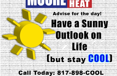 Moore Air and Heat - Grandview, TX. mooreairandheat.com offers coupons