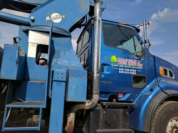 Reasonable Tree Experts - Crest Hill, IL. Truck