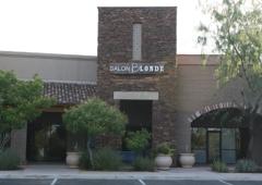 Salon Blonde - Marana, AZ. The gorgeous exterior of Salon Blonde, the Tucson area's premier AVEDA salon located in Marana, AZ at the foot of Dove Mountain.