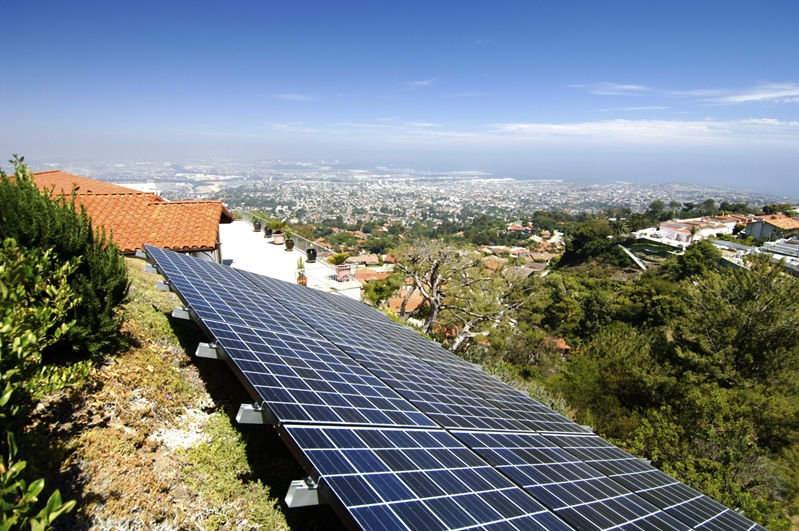 Solar panels don't work for all types of roofs and surfaces.