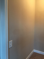 Paints spots not blended in