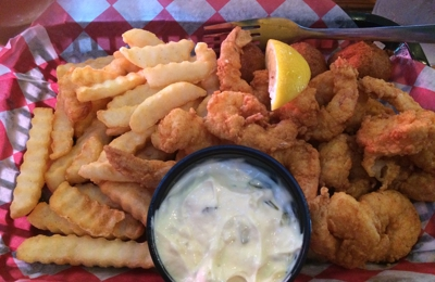 Steamhouse Lounge - Atlanta, GA. Fried Shrimp Basket