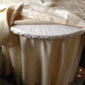 ASAP Linen Inc - Paterson, NJ. ASAP Linen vinyl cover protects the under cloth and provides a great soft table feel.