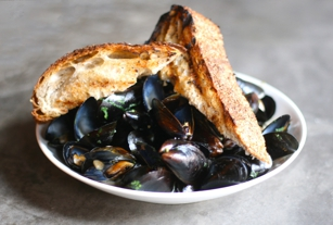 Mussels at The Runner in New York, NY