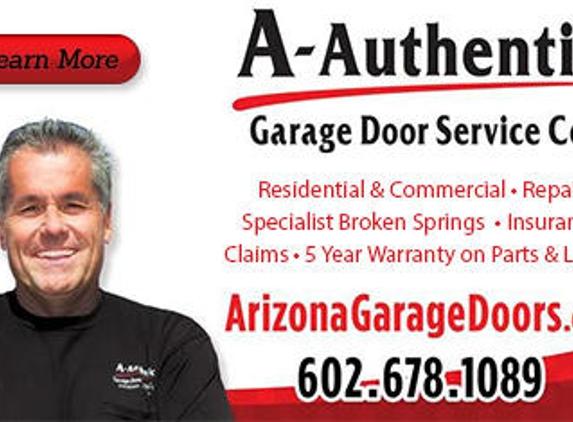 A Authentic Garage Door Service Co - Phoenix, AZ