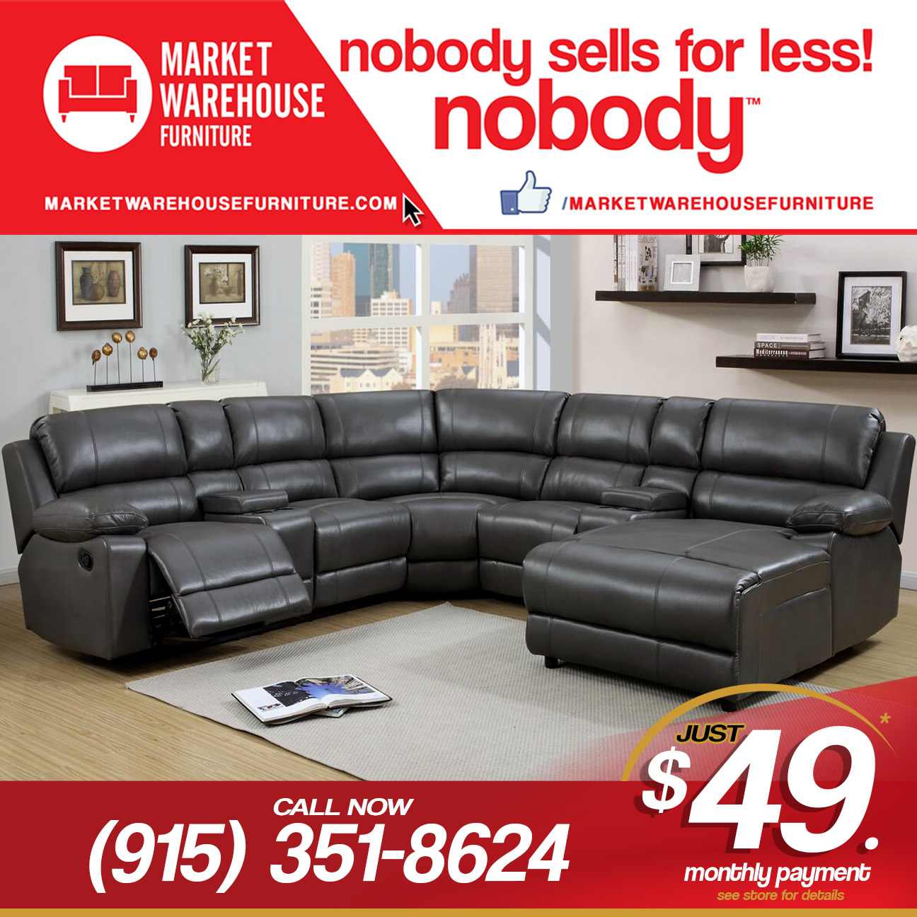 Market Warehouse Furniture 6995 Market Ave El Paso Tx 79915 Yp Com