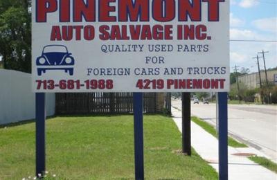 Pinemont Auto Salvage, Inc  4219 Pinemont Dr, Houston, TX