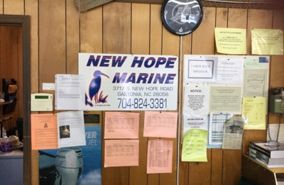 New Hope Marine - Gastonia, NC