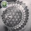 Double Cross Tattoo - Miami
