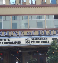 House Of Blues - San Diego, CA