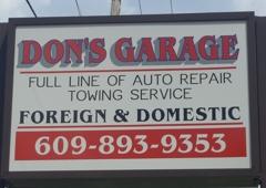 Don's Garage - Browns Mills, NJ
