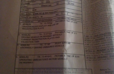 Traffik RENT-A-CAR - Columbia, MD. I don't want this to happen to another person. Beware!