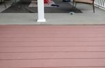 Gap between porch and deck