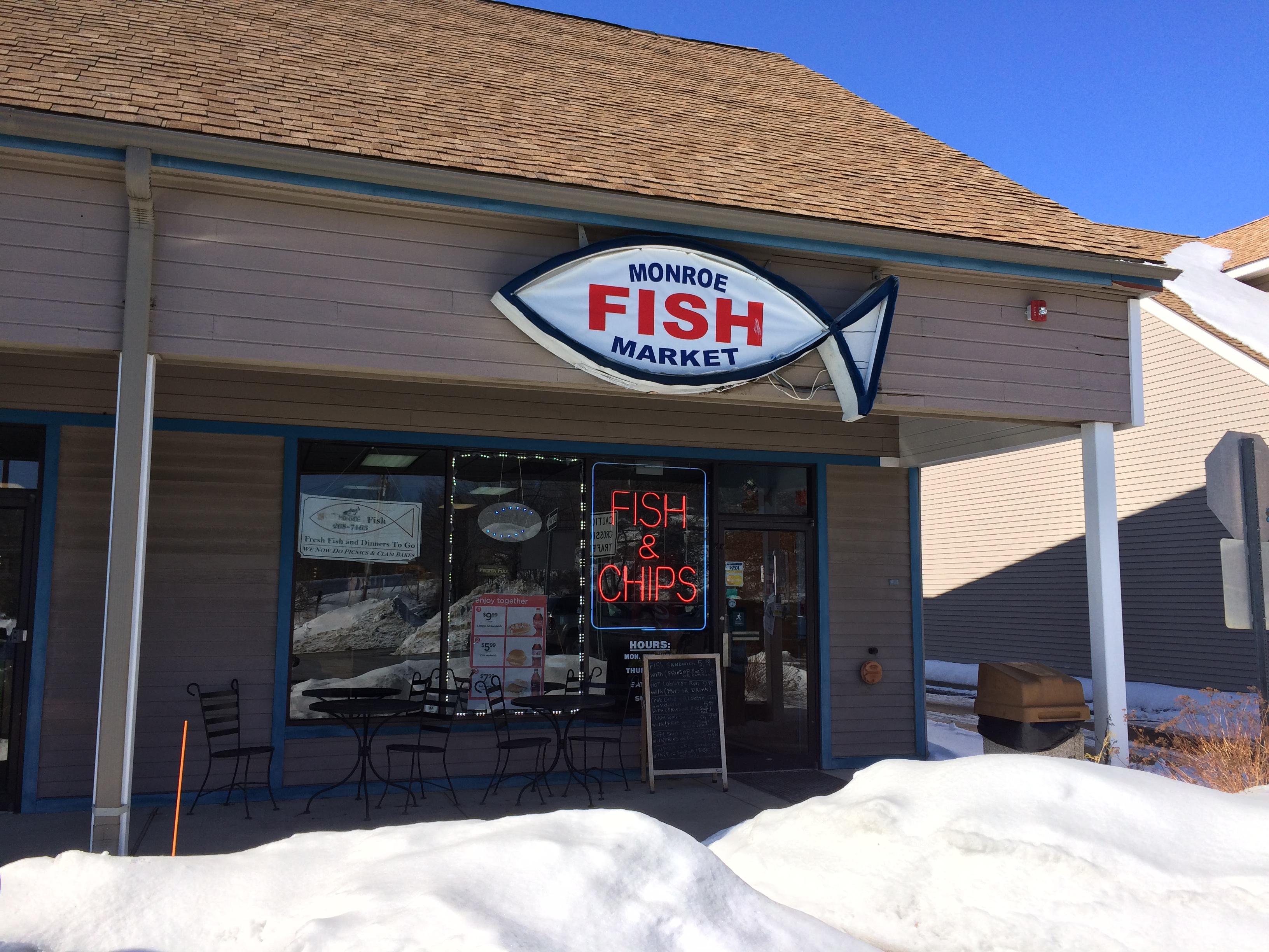Monroe fish market 477 main st monroe ct 06468 for Swanson s fish market
