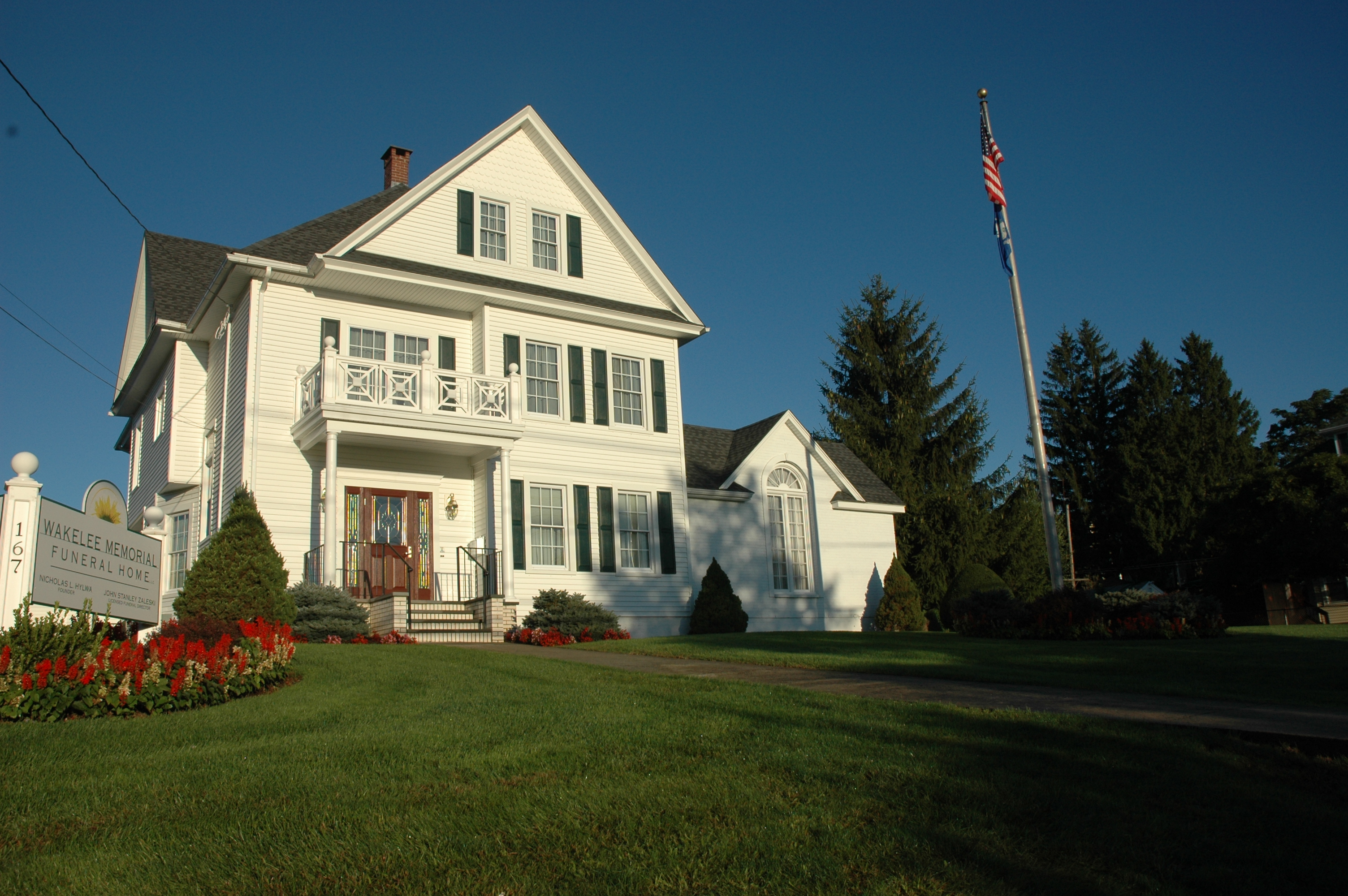 Wakelee Memorial Funeral Home 167 Wakelee Ave Ansonia Ct