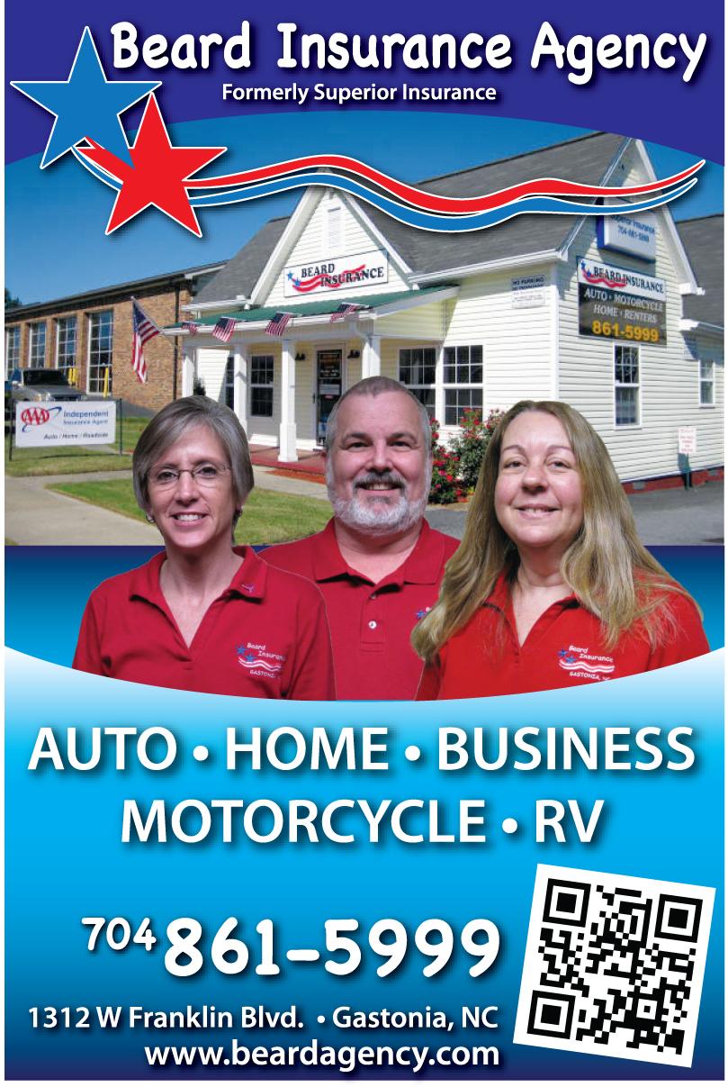 Beard Insurance Agency 1312 W Franklin Blvd, Gastonia, NC ...