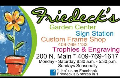 Friedeck's Garden Center - Vidor, TX