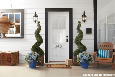 Make your front door pop at Orchard Supply Hardware.