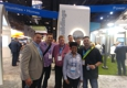 Willow Electrical Supply Inc. - Schiller Park, IL. Team Willow visited  EATON Lighting's booth during the Lightfair Chicago 2018 trade show.