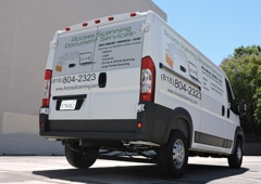 Access Scanning Document Services LLC - Encino, CA. Access Delivery truck!