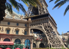 Eiffel Tower Experience - Las Vegas, NV. The replica of the Eiffel Tower.