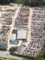 Aerial of 2,000 ����