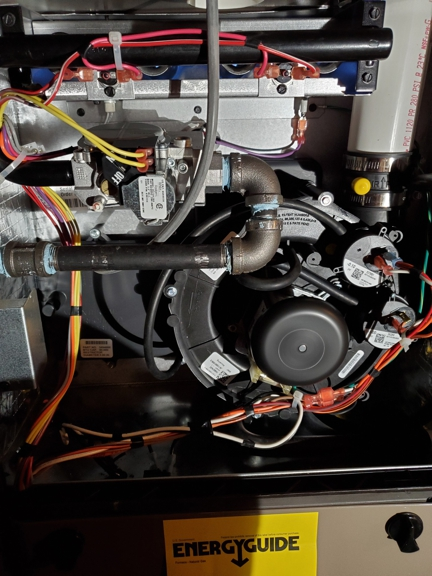 JP Heating & Cooling. Inducer Fan motor replacement