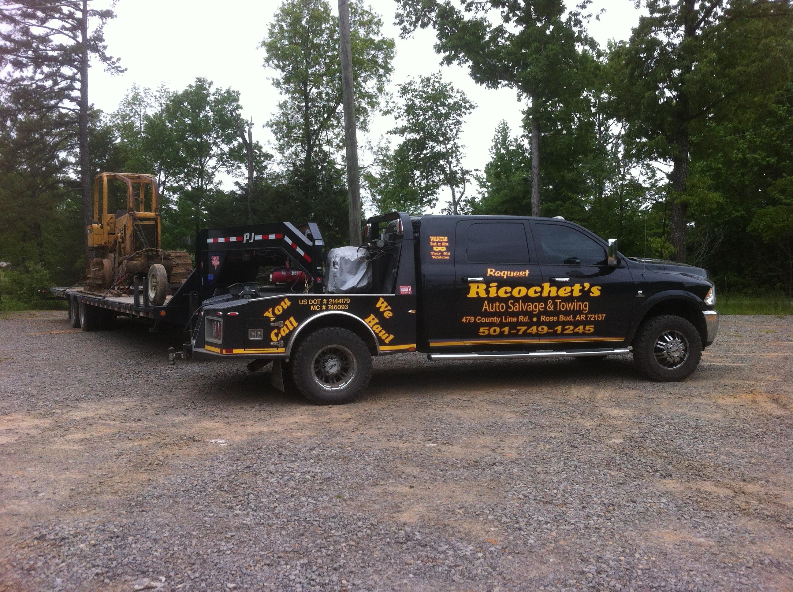 Ricochet\'s Auto Salvage & Towing 6012 Highway 36 W, Rose Bud, AR ...