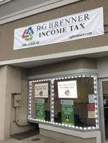 R&G Brenner Income Tax Store Front Huntington Station