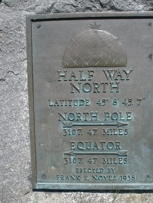 Next to the Geographical Marker