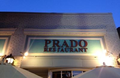 Prado Restaurant - Los Angeles, CA. Sign