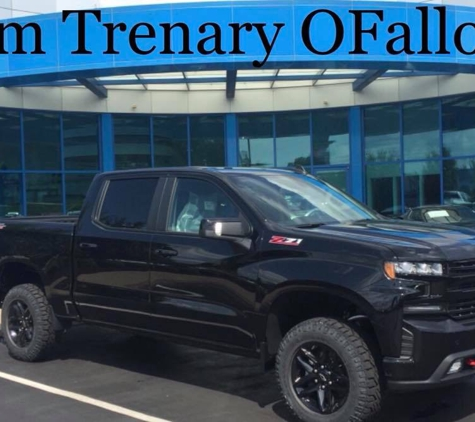 Jim Trenary Chevrolet - O Fallon, MO. New Chevy Silverado St. Louis, St. Charles, O' Fallon, St. Peter's, Cottleville, Wentzville, MO Jim Trenary Chevrolet