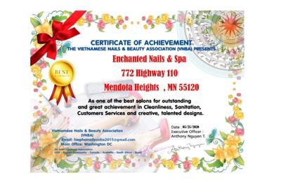 Enchanted Nails Spa - Saint Paul, MN