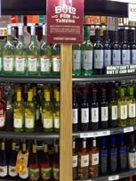Wider wine selection