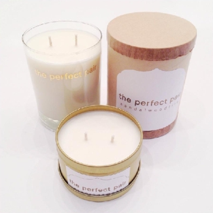 Custom Scented Candles at The Perfect Pair in Nashville