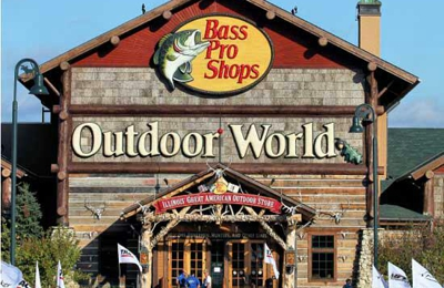 Bass Pro Shops - East Peoria, IL. Bass Pro Shop East Peoria