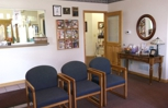 We strive to start your visit on time so you will not spend much time in our reception area.