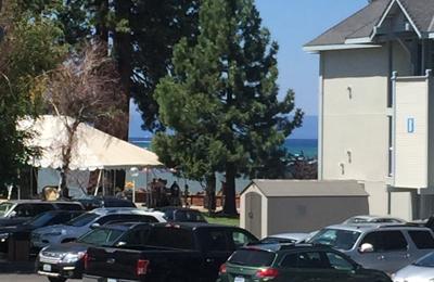 Beach Retreat Lobby Restaurant - South Lake Tahoe, CA. Partial ocean view room