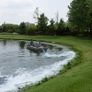 AQUA DOC Lake & Pond Management - Chardon, OH. Application for algae