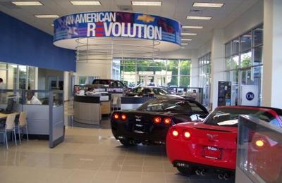 Hubert Vester Chevrolet   Wilson, NC. Inside Hubert Vester Chevrolet