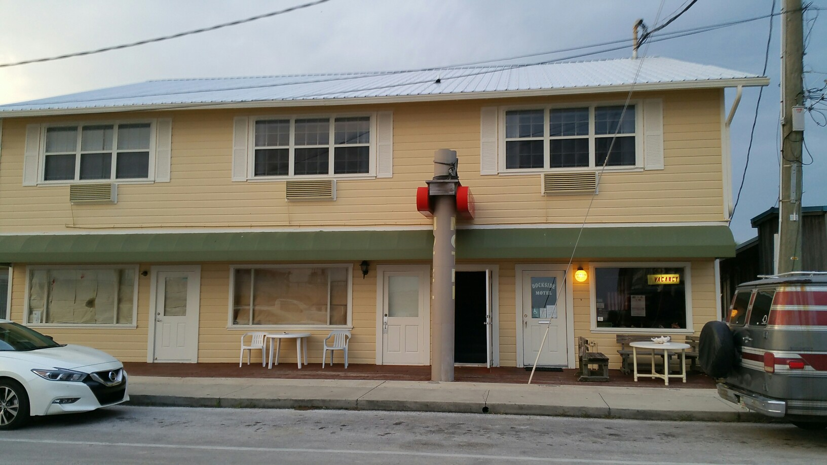 Dockside Motel, Cedar Key FL