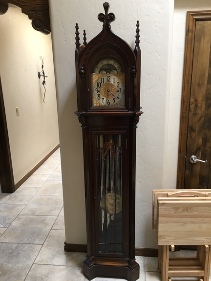 A Precision Clock Repair - El Paso, TX. Herschede Grandmother Clock